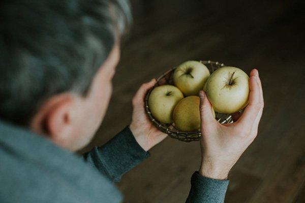 sady tradycyjne jabłka
